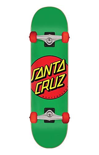 Santa Cruz - Skateboard completo Classic Dot 7,8', colore: Verde