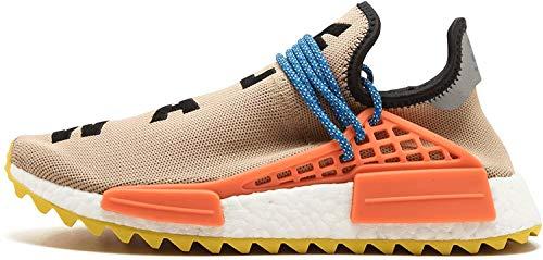 adidas - PW Human Race NMD TR Sunglow da Uomo, Beige (Stpanu/Cblack/Yellow), 42.5 EU