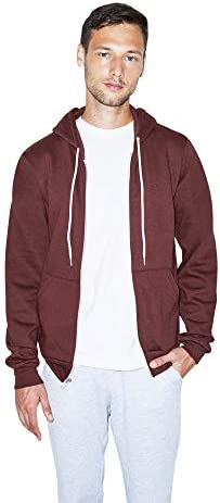 American Apparel Flex Fleece Long Sleeve Zip Hoodie, F497W