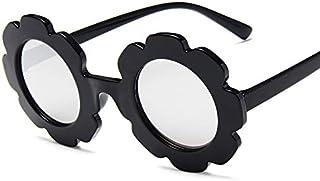 Monkys - Monkys Gafas de Sol para niños Niñas Niños Niñas Estilo de Flores Sombras Protección UV para niños Niñas Fiesta Viajes al Aire Libre