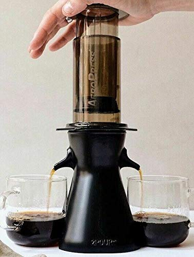 2POUR® The New Dual Press Accessory for The Aeropress® Coffee Maker, Delter Coffee Press or Pourover