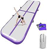 airtrack matte 10cm hoch 3M Aufblasbare turnmatte AirTrack Gymnastik Yogamatte Taekwondo Camping...
