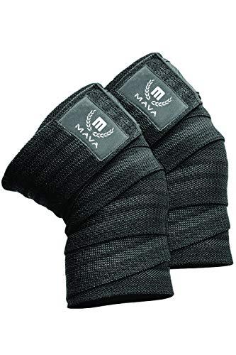 Mava Sports Knee Wraps (Pair) for Cross Training...