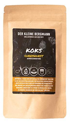 Koks - Currywurst Gewürzmischung die perfekte Currywurst Grillgewürz BBQ Wurst Fleisch Gemüse als Marinade oder Rub 100g
