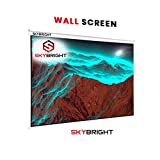 Skybright Manual Pull Down Wall Projector Screen Size 6Ft Width X 4Ft Height