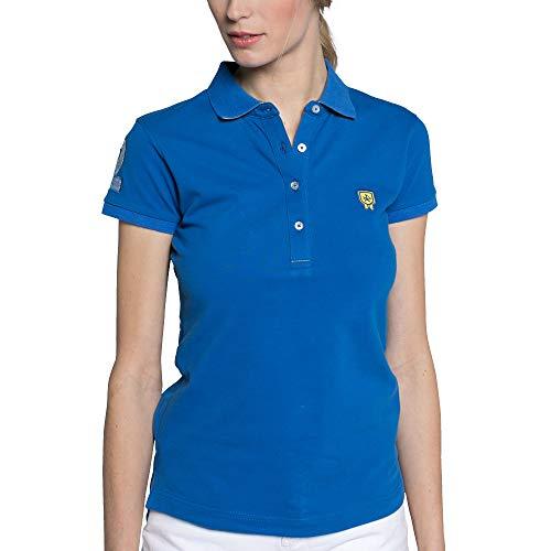 Valecuatro Polo Manga Corta Mujer, Camiseta de Moda, Algodó