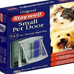 Staywell 737 Porte pour Animal Domestique pour Chien et Chat, 2 Way Argenté/Gris