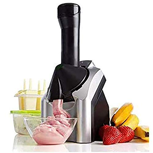 HYBHSCL Máquina de Helados para el hogar Máquina de Yogurt congelado Sorbete Usado para el Postre de Fruta congelada Haciendo postres para niños