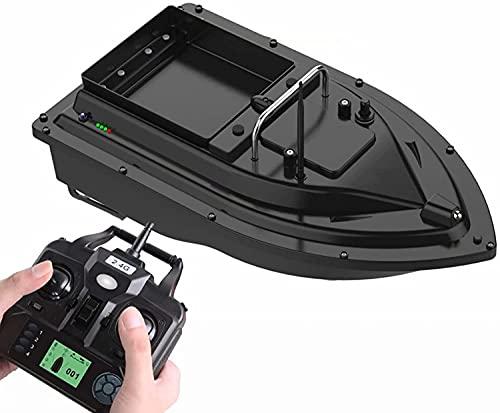 TYSJL Viszoeker aas boot met gps - 500m vissen op afstand bestuurbare boten viszoeker boot intelligente aas boot aas boot met echo sounder 2.0 kg belasting 5200mAh (Color : Gps Version)