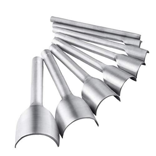 xiaocheng erhandarbeitsprodukte Werkzeug Halbrundschneider Schlags Set 5-40 Mm Für Crafting-bügel-Gurt-DIY Handarbeit Projekt 8 Pc Bequem Und Praktisch Werkzeuge