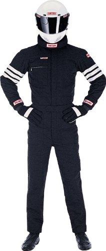 Simpson Racing 0402312 Gabardine Black Large Nomex 2-Layer Driving Jacket