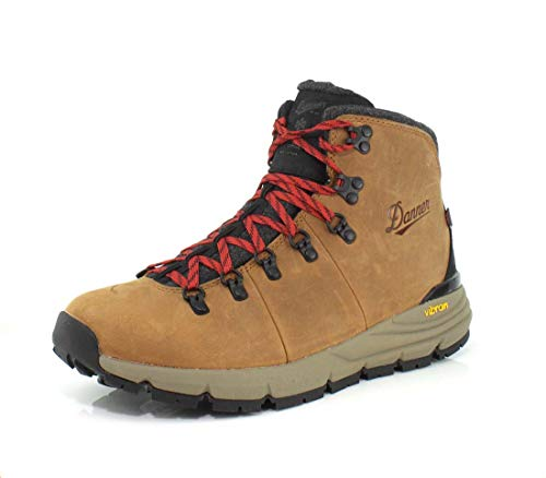 "Danner Men's Mountain 600 4.5"" Insulated Hiking Boot, Brown/Red, 11.5 Wide US"