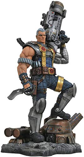 DIAMOND SELECT TOYS Marvel Premier Collection: Cable Resin Statue, Multi, Standard image