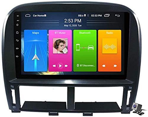 AEBDF Android 10 Coche Estéreo Radio para Lexus LS430 GSP 1999-2006, GPS Navegación Multimedia Player Multimedia Sat Carplay Carrier Carrier Bluetooth Control de Volante,4core 4G+WiFi1+32GB