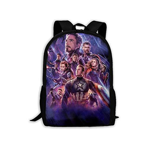 Tutui World Warcraft Illidan Stormrage School Book Bags Laptop Backpacks Book Bags School Bags for Women Men,Size 43X28X16Cm