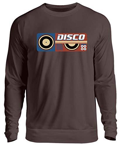 Generieke hoogwaardige unisex pullover - Disco DJ retro vintage plaat vinyl party - eenvoudig en grappig design
