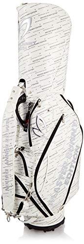 [マスターバニー] ゴルフ用 PRO 仕様 バイヤスロゴ/メタリック カートタイプ キャディバッグ (9inch・46インチ対応) 030_ホワイトベース