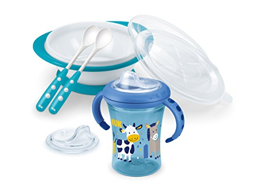 NUK 10225181 Learn-To-Eat Set