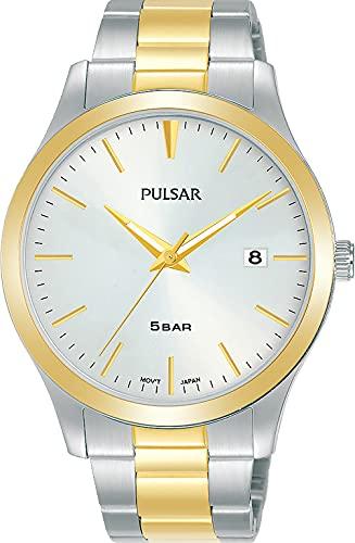 Pulsar Reloj Analógico para Hombre de Cuarzo con Correa en Metal PS9670X1