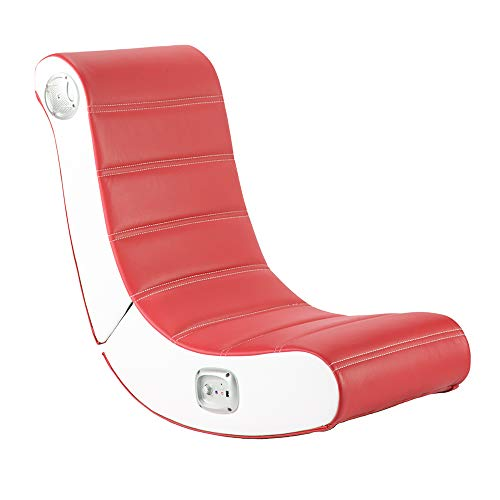 X Rocker Play 2.0 Floor Rocker Chair - Red