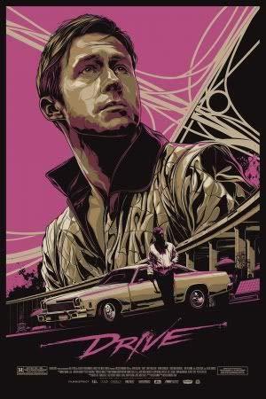 Drive - Ryan Gosling – Film Poster Plakat Drucken Bild – 43.2 x 60.7cm Größe Grösse Filmplakat