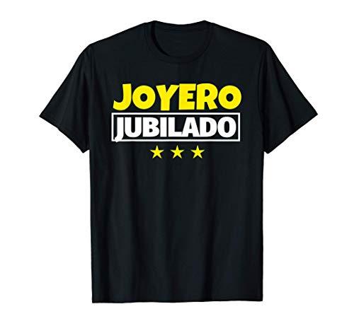 Joyero Jubilado Regalo Camiseta