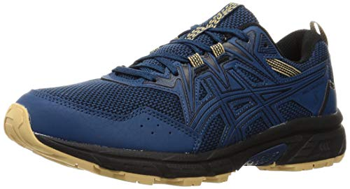 ASICS Herren Gel-Venture 8 Trail Running Shoe, Mako Blue/Black, 46 EU