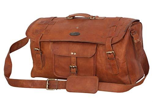 SBazar Reisetasche aus Leder, für Herren, 50,8 cm, Vintage-Design