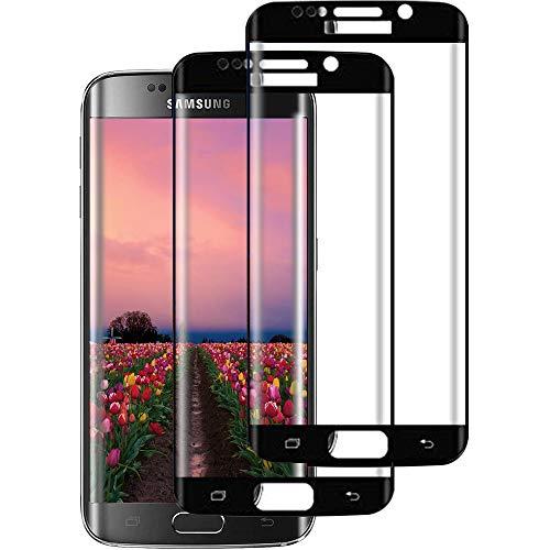 Samsung Galaxy S7 Edge Panzerglas,3D Volle Abdeckung Galaxy S7 Edge Schutzfolie,9H Härte, Anti-Kratzen, Ultra-klar, Blasenfrei,Displayschutzfolie für S7 Edge[2 Stück]