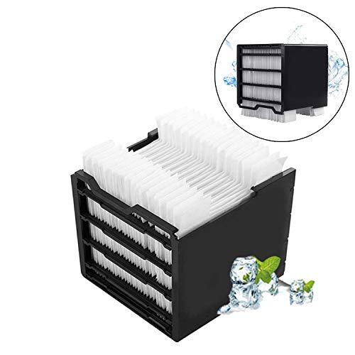 Luftkühlerfilter, Arctic Air Filter für Personal Space Cooler, Klimaanlage Mini Kühlung Artic Air Filter kompatibel mit Luftbefeuchter-Filteralternativen (32 Stück Filterpapier)