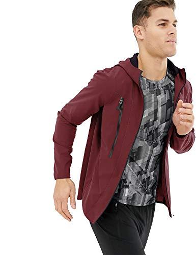 JINIDU Cycling Jackets Lightweight Running Coat Hooded Softshell