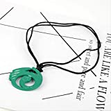 Hot Game Jewelry Tomb Raider Pendant Necklace Cord Chain Charms Necklace for Women men Collier