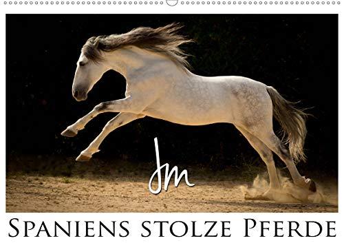 Spaniens stolze PferdeAT-Version (Wandkalender 2020 DIN A2 quer): Spaniens Pferde by Julia Moll...