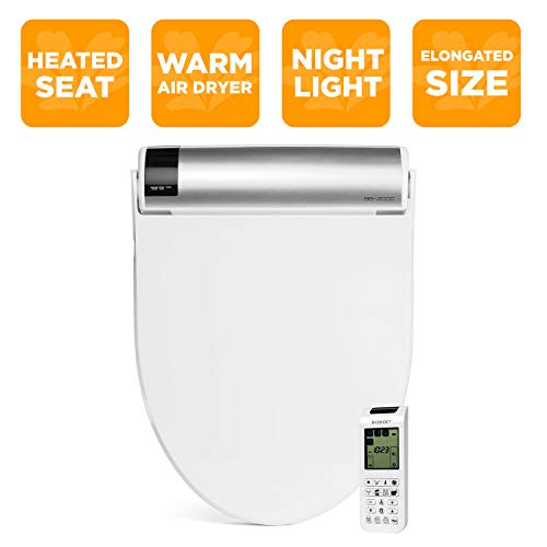 BioBidet Bliss BB2000 Elongated Smart Bidet Toilet