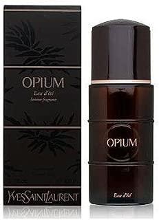 OPIUM SUMMER FRAGRANCE Perfume. Eau d'ete Spray - 3.3 oz / 100 ml (2002 Limited Edition Black Box) By Yves Saint Laurent - Womens