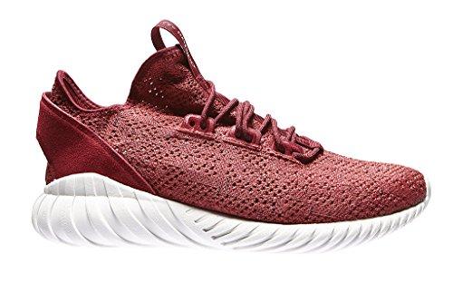 adidas Herren Tubular Doom Sock Pk Fitnessschuhe, Rot (Rojmis/Buruni/Balcri 000), 43 1/3 EU
