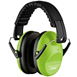Ear Defenders for Kids Toddlers Children - Hearing Protection Earmuffs with Autism - Adjustable Padded Headband Noise Reduction.