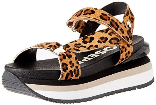 Gioseppo Topeka, Zapatillas Mujer, Leopardo, 38 EU