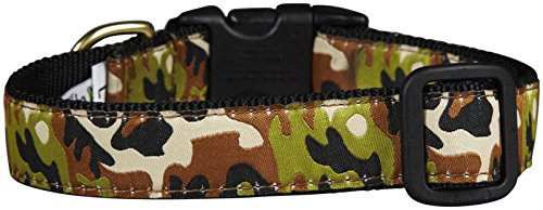 Up Country Camo Collier Wide, XL