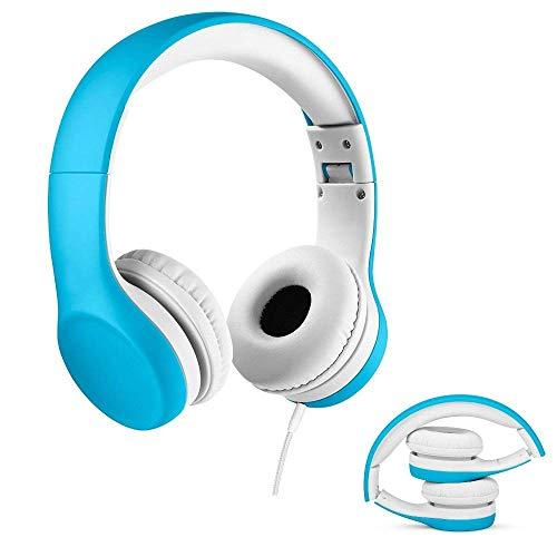 Kinder-Kopfhörer, Premium-Lautstärke, verkabelt, mit Stereo-System und Shareport