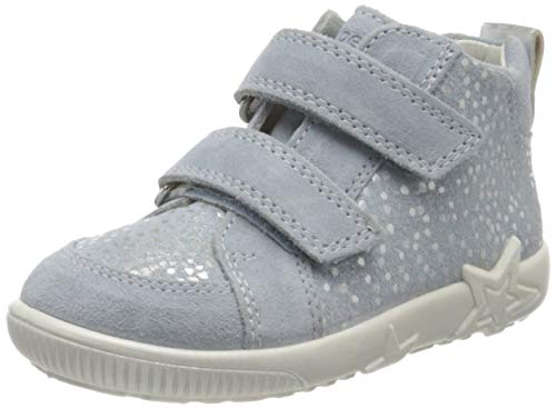 Superfit Baby Mädchen Starlight Sneaker, Blau (Hellblau 85), 26 EU