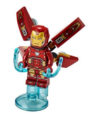LEGO Super Heroes Iron Man Minifigura desde 76167 (Embolsado)