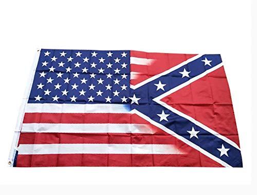 MBEN 2ST amerikanische Staats-Flagge, 3x5 ft US-Militär Verstellbare Wand- robust und langlebig Flags Banner doppelt vernäht und Fade Resistant Flaggen mit Messingösen