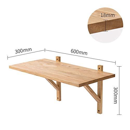 Zwevende Planken, Houten Decoratieve, Zwevende Plank Tv-Componenten, Garage/Schuur/Magazijn/Vrijstaande Opslagplanken,Eiken Rek-600X300X300Mm