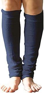 [ソワン] シルク100% レッグウォーマー ロング レディース メンズ 男女兼用