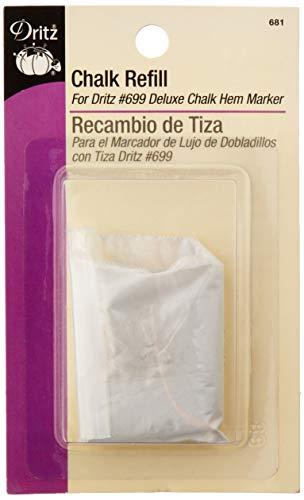 Dritz Refill Chalk, White