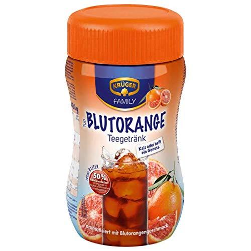 Krüger Teegetränk Blutorange,8 Liter, 6er Pack (6 x 400 g Dose)