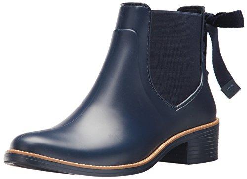 Bernardo Women's Paxton Rain Boot, Navy Rubber, 9M M US