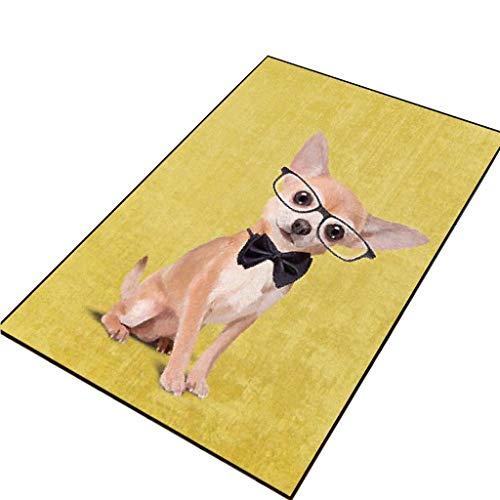 Met Love Tapis de sol absorbant antidérapant pour salle de bain, cuisine, chambre à coucher, porte (couleur : A, taille : 80 x 100 cm)