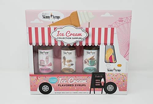 Jordans Skinny Truck Syrup Gift Pack Sampler - 3pk (Ice Cream Truck)